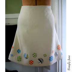 Circle Applique Skirt 2