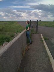Jenn at Mormon Lake