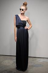 bridal clothing(0.0), sleeve(0.0), cocktail dress(0.0), little black dress(0.0), wedding dress(0.0), bridesmaid(0.0), prom(0.0), bridal party dress(1.0), neck(1.0), gown(1.0), clothing(1.0), woman(1.0), fashion(1.0), female(1.0), formal wear(1.0), dress(1.0),