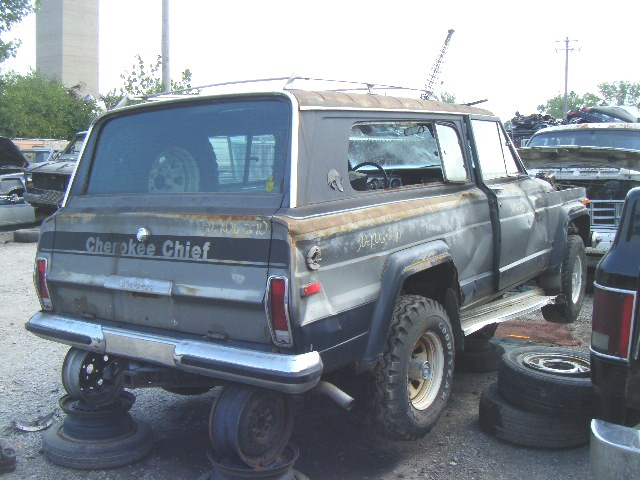 1977 Jeep Cherokee Chief Parts http://www.flickr.com/photos/notablazer/2876959655/