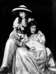 Lillian and Dorothy Gish by Alfred Cheney Johnston, ca. 1920