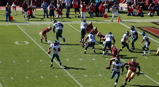 Eagles v. 49ers: Passing