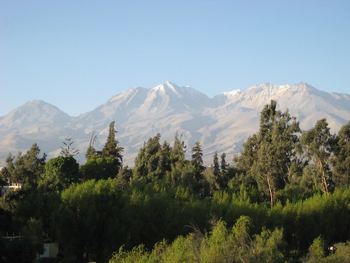 Mountain view from Arequipa
