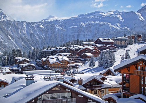Luxury lodging in Courchevel. Courtesy Courchevel Tourism