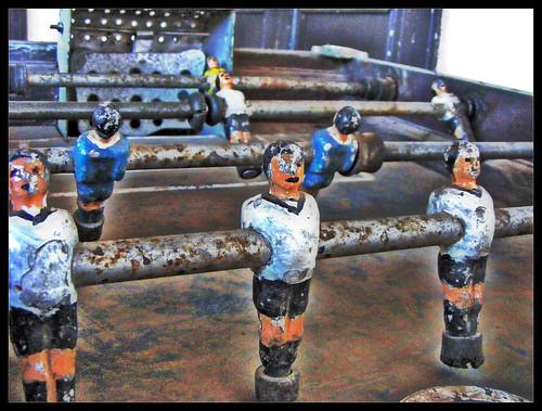Futbolistas oxidados