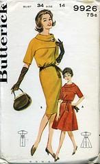 Vintage Butterick 9926