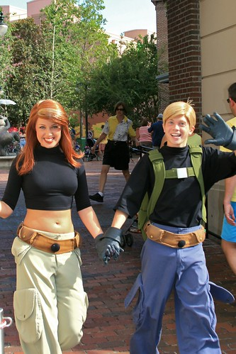 WDW Sept 2008 - Meeting Ron Stoppable and Kim Possible