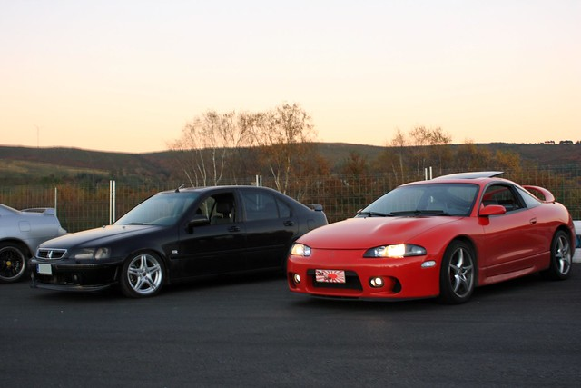 Honda Civic VTi Mb6 - Mitsubishi Eclipse GS