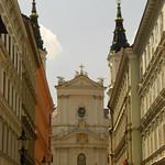 Church Facade - Vienna, Austria
