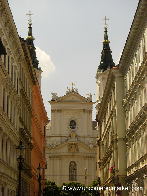 Church Facade - Vienna, Austria