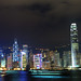 Night View (from Tsim Sha Tsui) @ Victoria Harbour, Hong Kong