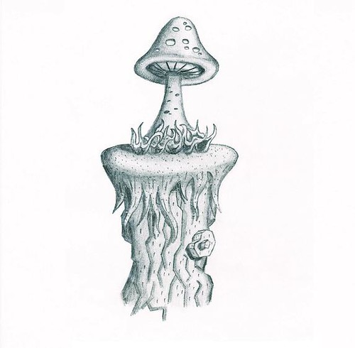 Mushroom drawing flickr photo sharing for How to draw a mushroom
