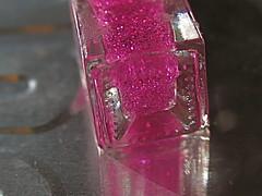 magenta, violet, nail polish, glitter, pink,