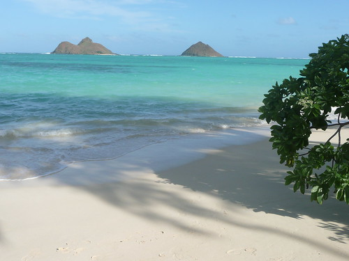 Islands off Lanikai