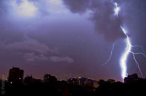 Gran tormenta eléctrica 2011-06-06, Medellín