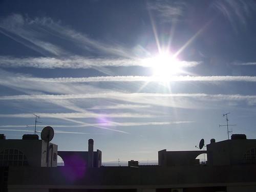 SCIE CHIMICHE A MATERA - ChemTrails in Matera (Basilicata) - Italy