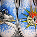 Lichtenstein's WHAAM! Vans