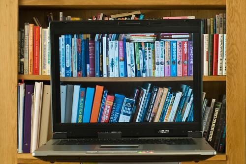 digital bookshelve