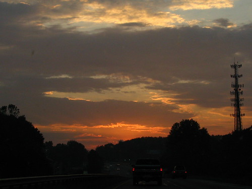 sunset g7 duringcommuteafterstorm northboundonus41 may232008