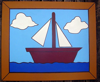 Simpson S Living Room Sailboat 20 X 24 July 2006