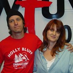 Steve Poltz at WFUV with Claudia Marshall