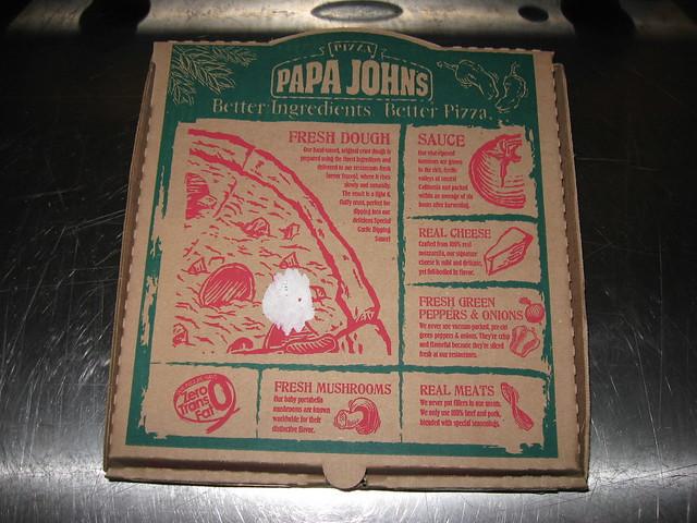 Papa John 39 S Hawaiian Bbq Chicken Pizza Box Flickr Photo Sharing