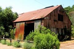 Rusted Barn at English Camp