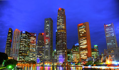 CBD of Singapore | HDR