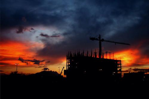 sunset sky cloud building landscape mexico atardecer edificio paisaje cielo nuevoleon nube flickraward julio2008 cdguadalupe
