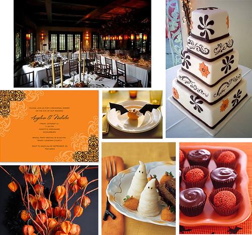 Wedding Wednesday - Halloween Wedding