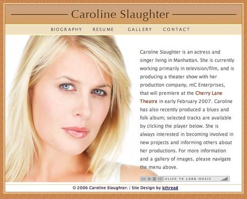 Caroline Slaughter