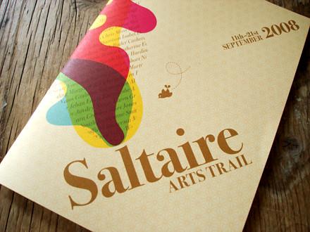 Saltaire Arts Trail 2008 brochure