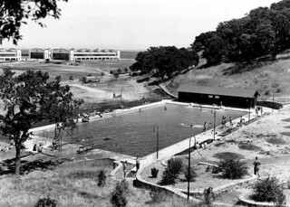 Hamilton Field, CA Enlisted Swimming Pool 9 August 1938