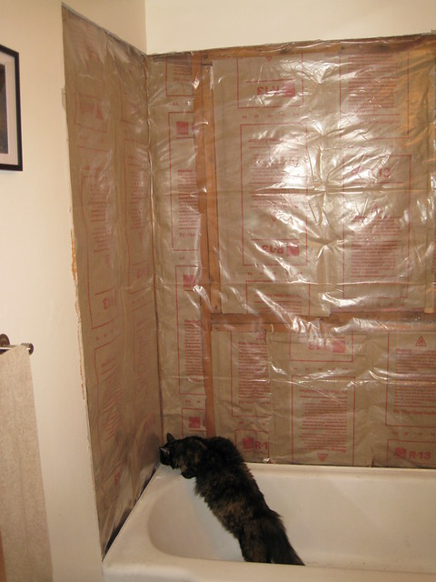 Bathroom vapor barriers bathroom vapor barriers vapor for Vapor barrier in bathroom