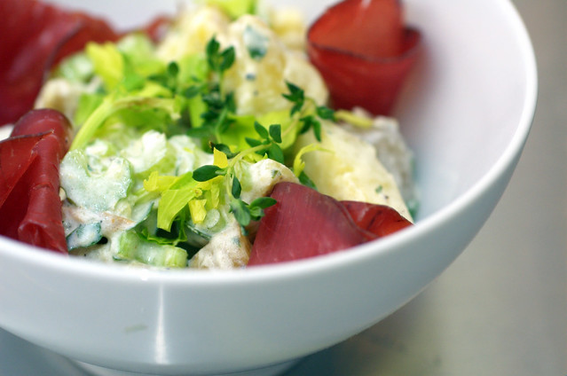Potato Salad with Horseradish & Bresaola | Flickr - Photo Sharing!