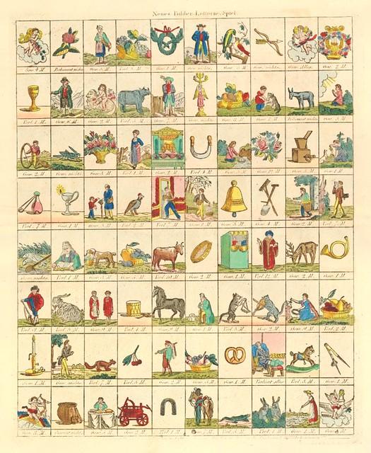 Neues Bilder Lotterie Spiel (1810-1820)