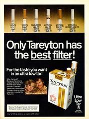 Tareyton Advertisement - Time (Dec 28, 1981)
