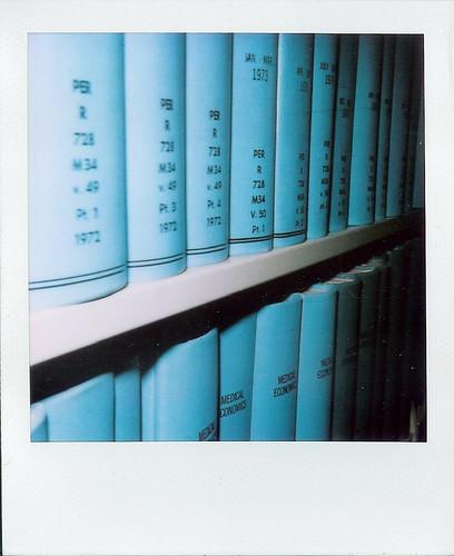 blue books.
