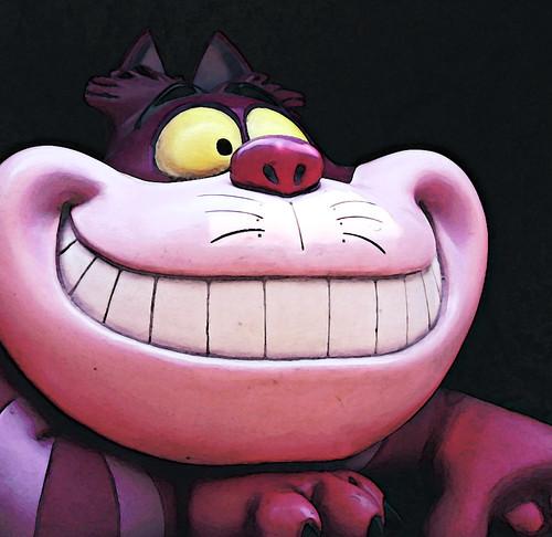 Cheshire Cat by Sherif Salama
