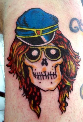 Axl rose tattoo tattoo lawas for Guns n roses tattoos