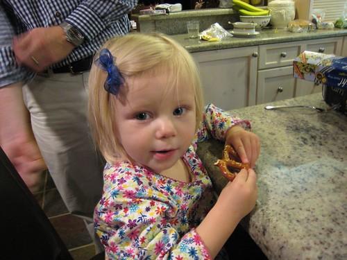Molly's, party;, pretzel IMG_7112