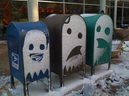 Snow Ghosts