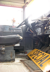 Staging Area - School Bus - Drivers Seat Underbelly