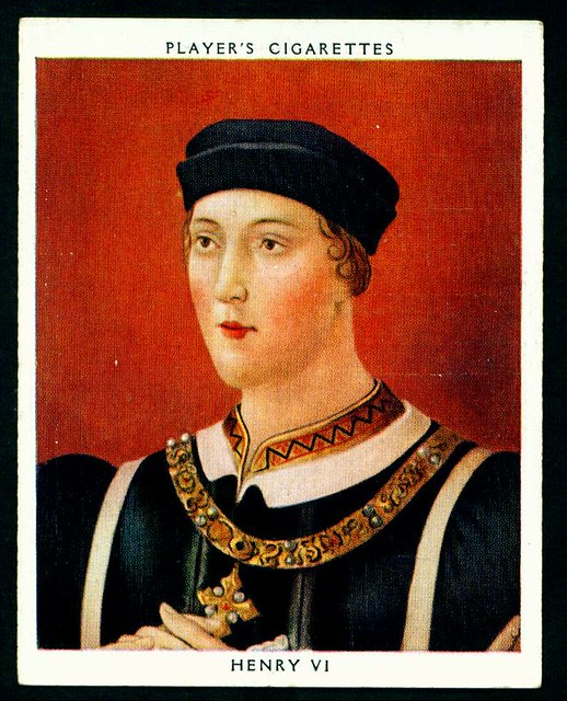 Cigarette Card - King Henry VI