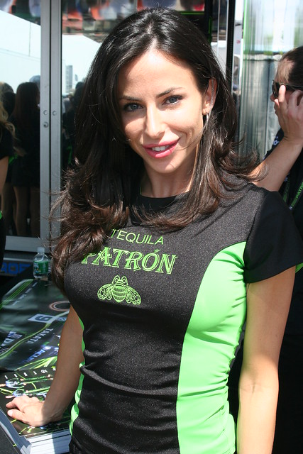 patron tequila girl shot by quotthe daredevilquot at t