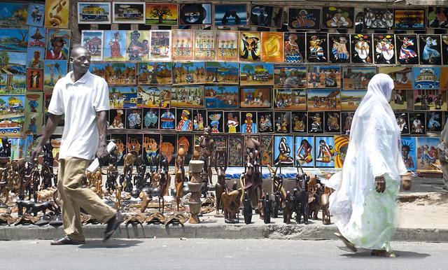 Dakar market