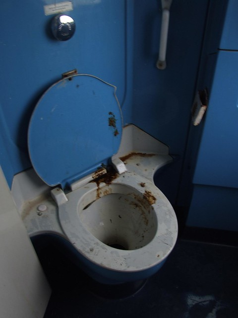 The most vile, filthy, disgusting toilet I have ever seen in my life!