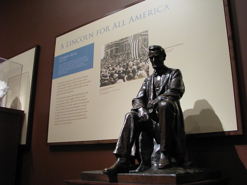 Keck's Lincoln Maquette on Exhibit