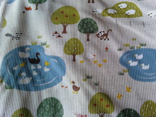 Closeup of Farm Animal fabric