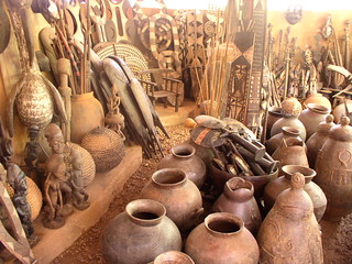 Buy handicrafts at Village Artisanal  - Things to do in Ouagadougou